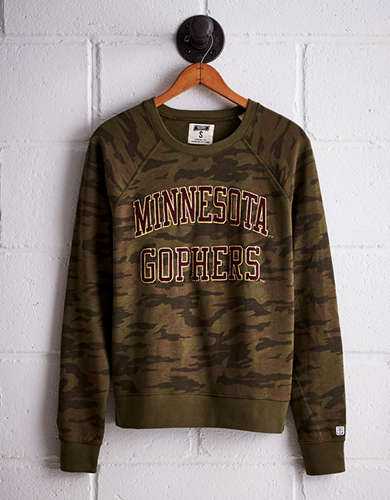 Tailgate Women's Minnesota Camo Fleece Sweatshirt - Free returns