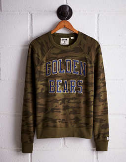 Tailgate Women's California Camo Fleece Sweatshirt