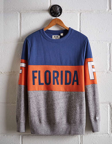 Tailgate Women's Florida Colorblock Sweatshirt - Free returns