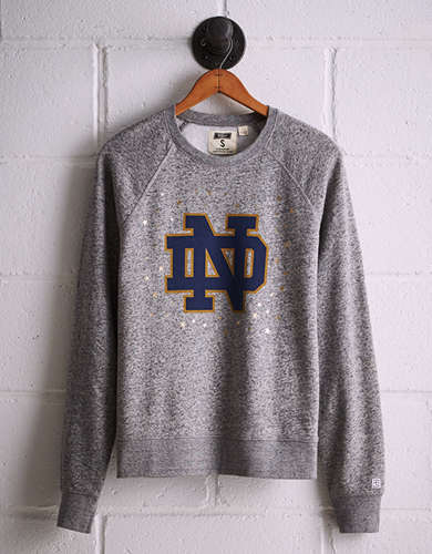 Tailgate Women's Notre Dame Boyfriend Sweatshirt - Free shipping & returns with purchase of NBA item