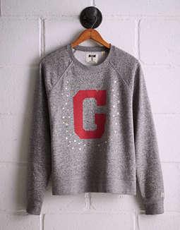 Tailgate Women's Georgia Boyfriend Sweatshirt by American Eagle Outfitters