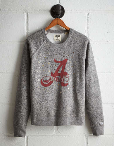 Tailgate Women's Alabama Boyfriend Sweatshirt - Free returns