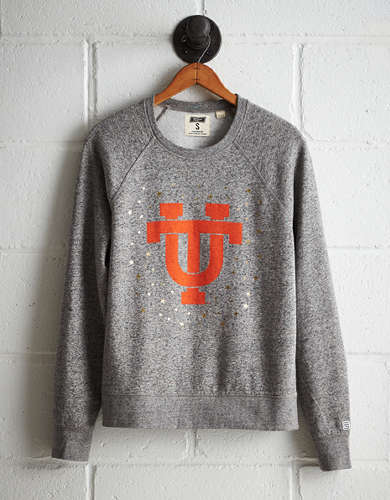 Tailgate Women's Tennessee Boyfriend Sweatshirt - Free Returns