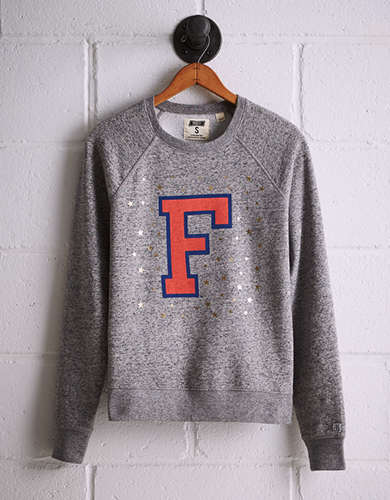 Tailgate Women's Florida Boyfriend Sweatshirt - Free returns