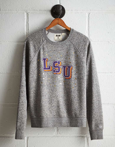 Tailgate Women's LSU Boyfriend Sweatshirt - Free shipping & returns with purchase of NBA item