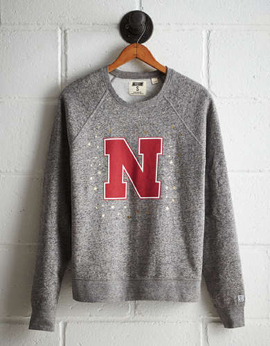 Tailgate Women's Nebraska Boyfriend Sweatshirt - Free returns
