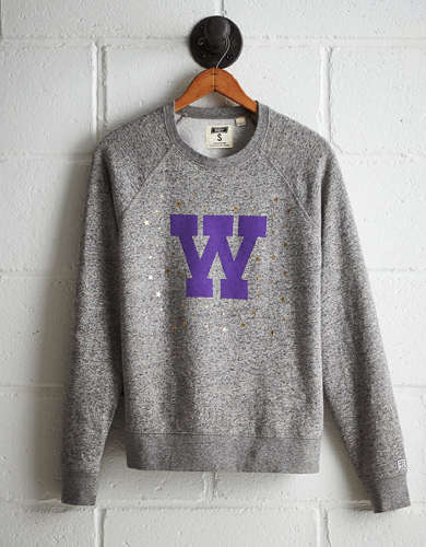 Tailgate Women's Washington Boyfriend Sweatshirt - Free returns