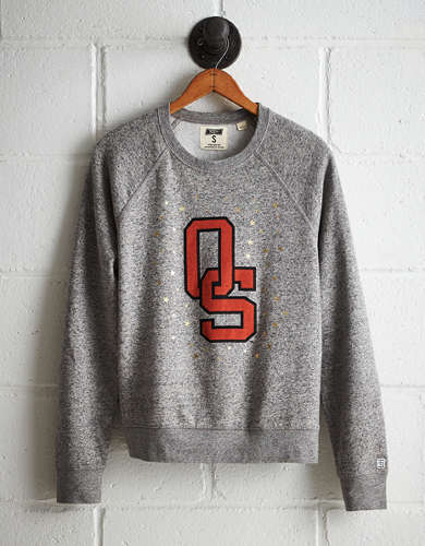 Tailgate Women's Oklahoma State Boyfriend Sweatshirt - Buy One Get One 50% Off