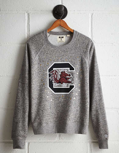 Tailgate Women's South Carolina Boyfriend Sweatshirt - Free Returns