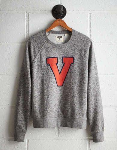 Tailgate Women's UVA Boyfriend Sweatshirt - Free returns