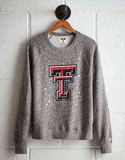 Tailgate Women's Texas Tech Boyfriend Sweatshirt