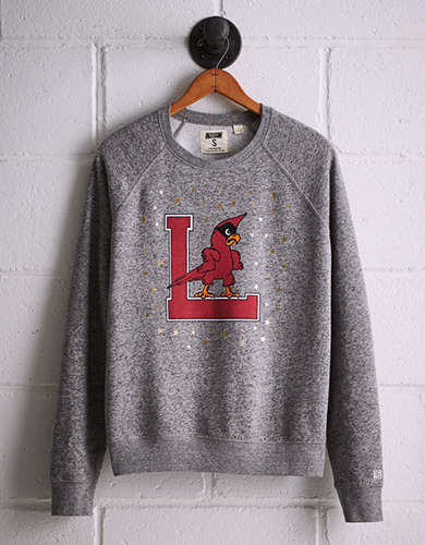 Tailgate Women's Louisville Boyfriend Sweatshirt - Free Returns
