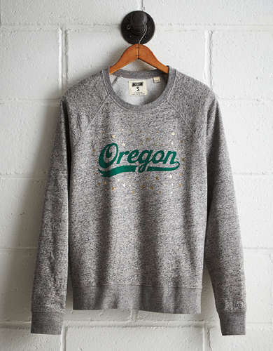 Tailgate Women's Oregon Boyfriend Sweatshirt - Free Returns
