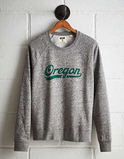 Tailgate Women's Oregon Boyfriend Sweatshirt