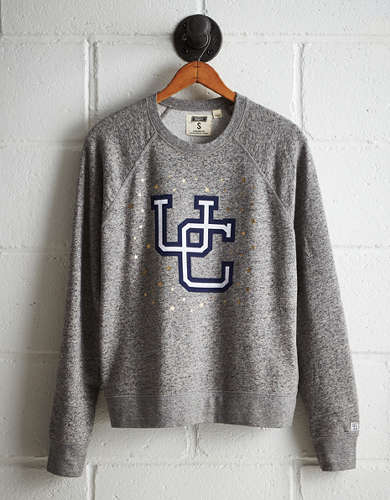 Tailgate Women's UCONN Boyfriend Sweatshirt - Free Returns