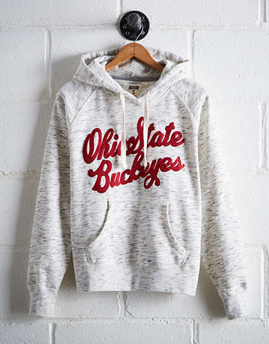 Tailgate Women's Ohio State Space Dye Hoodie - Buy One Get One 50% Off