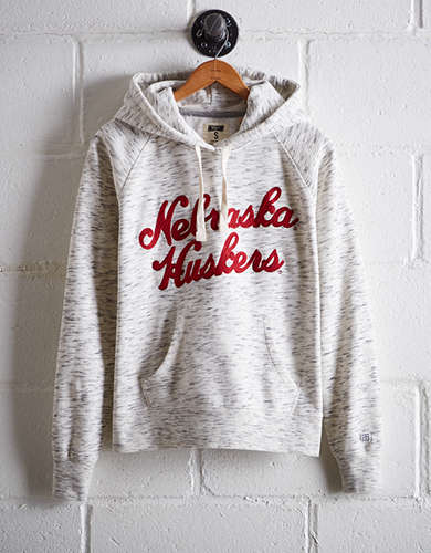 Tailgate Women's Nebraska Space Dye Hoodie - Free returns