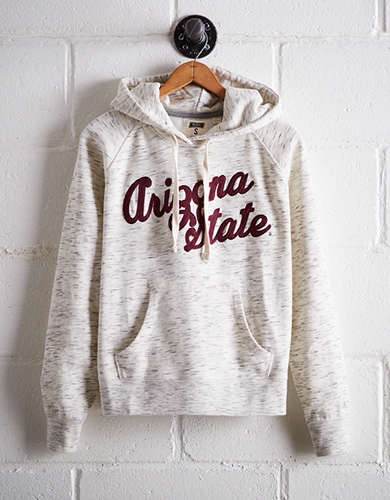 Tailgate Women's Arizona State Space Dye Hoodie -