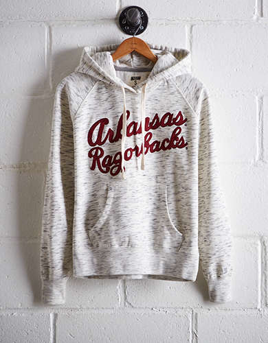 Tailgate Women's Arkansas Space Dye Hoodie - Free Returns