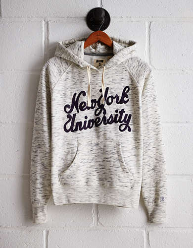Tailgate Women's NYU Space Dye Hoodie - Free returns
