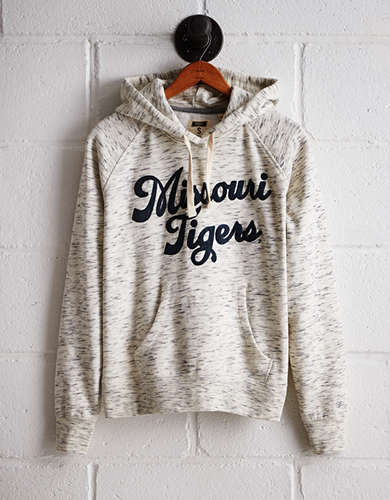 Tailgate Women's Missouri Space Dye Hoodie - Free Returns