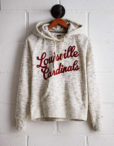Tailgate Women's Louisville Space Dye Hoodie - Free Returns