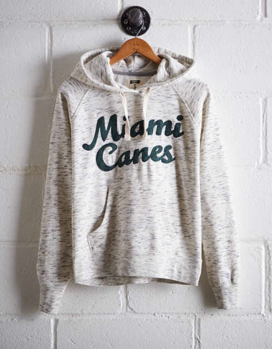 Tailgate Women's Miami Space Dye Hoodie - Free Returns