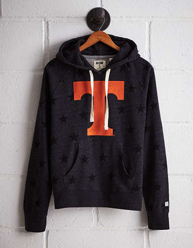 Tailgate Women's Tennessee Terry Fleece Star Hoodie - Free Returns