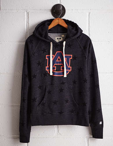 Tailgate Women's Auburn Terry Fleece Star Hoodie -