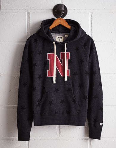 Tailgate Women's Nebraska Terry Fleece Star Hoodie - Free returns