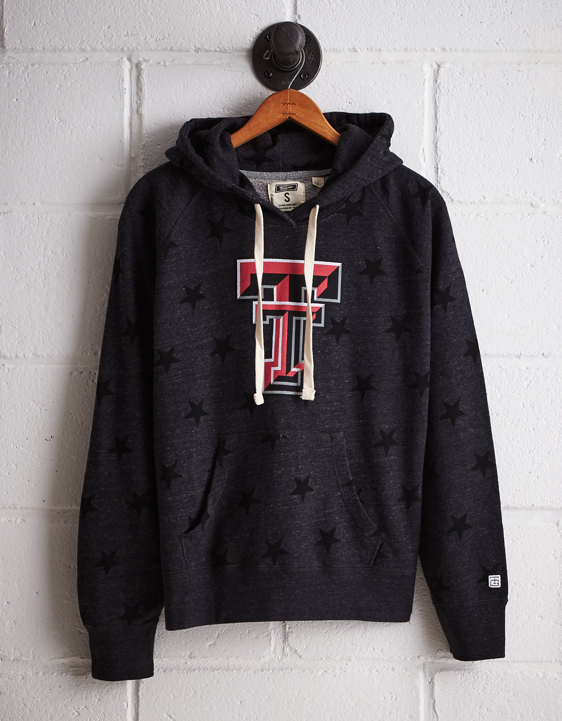 Tailgate Women's Texas Tech Terry Fleece Star Hoodie
