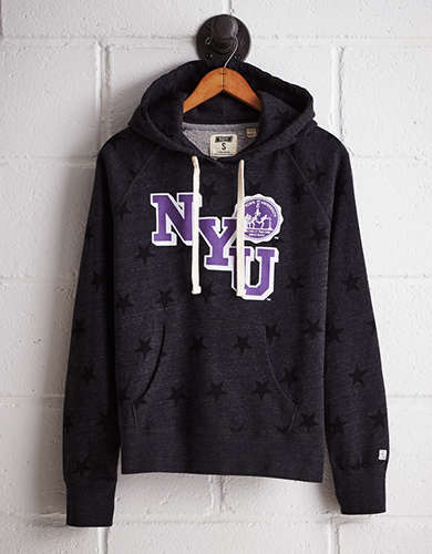 Tailgate Women's NYU Terry Fleece Star Hoodie - Free returns