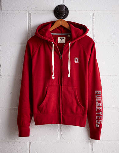 Tailgate Women's Ohio State Buckeyes Zip-Up Hoodie - Buy One Get One 50% Off