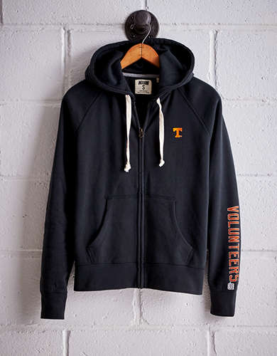Tailgate Women's Tennessee Vols Zip-Up Hoodie - Free Returns