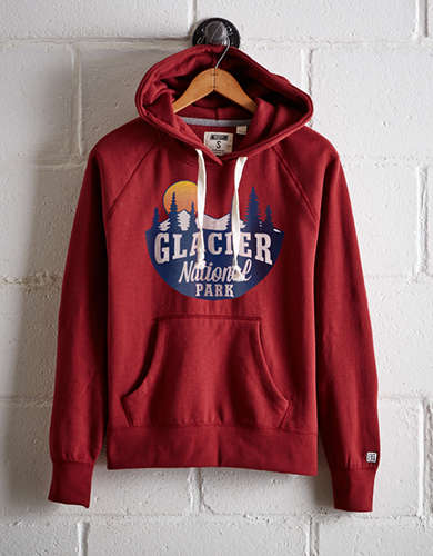 Tailgate Women's Glacier National Park Fleece Hoodie - Free Returns