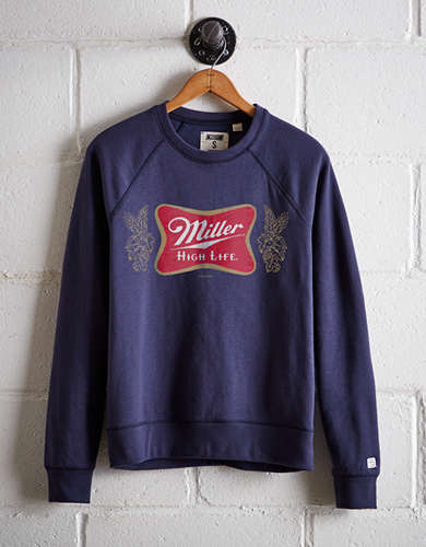 Tailgate Women's Miller High Life Fleece Sweatshirt - Free Returns