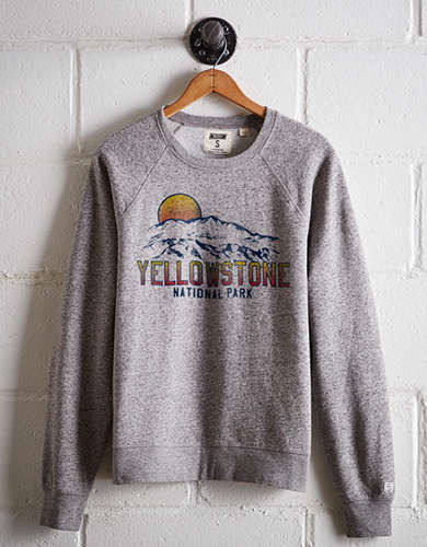 Tailgate Women's Yellowstone Fleece Sweatshirt - Free Returns