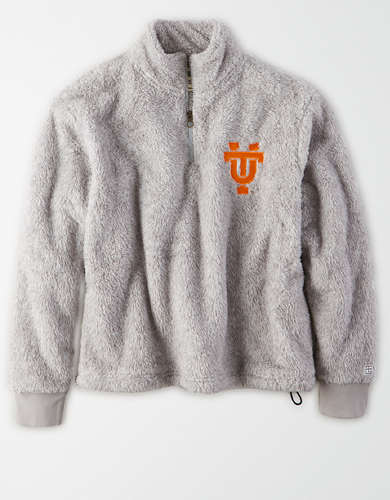 Tailgate Women's Tennessee Volunteers Sherpa Zip-Up Sweatshirt