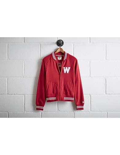 Tailgate Women's Wisconsin Bomber Jacket