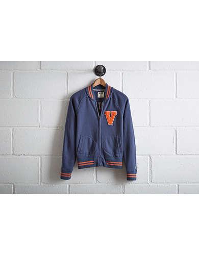 Tailgate Women's UVA Bomber Jacket