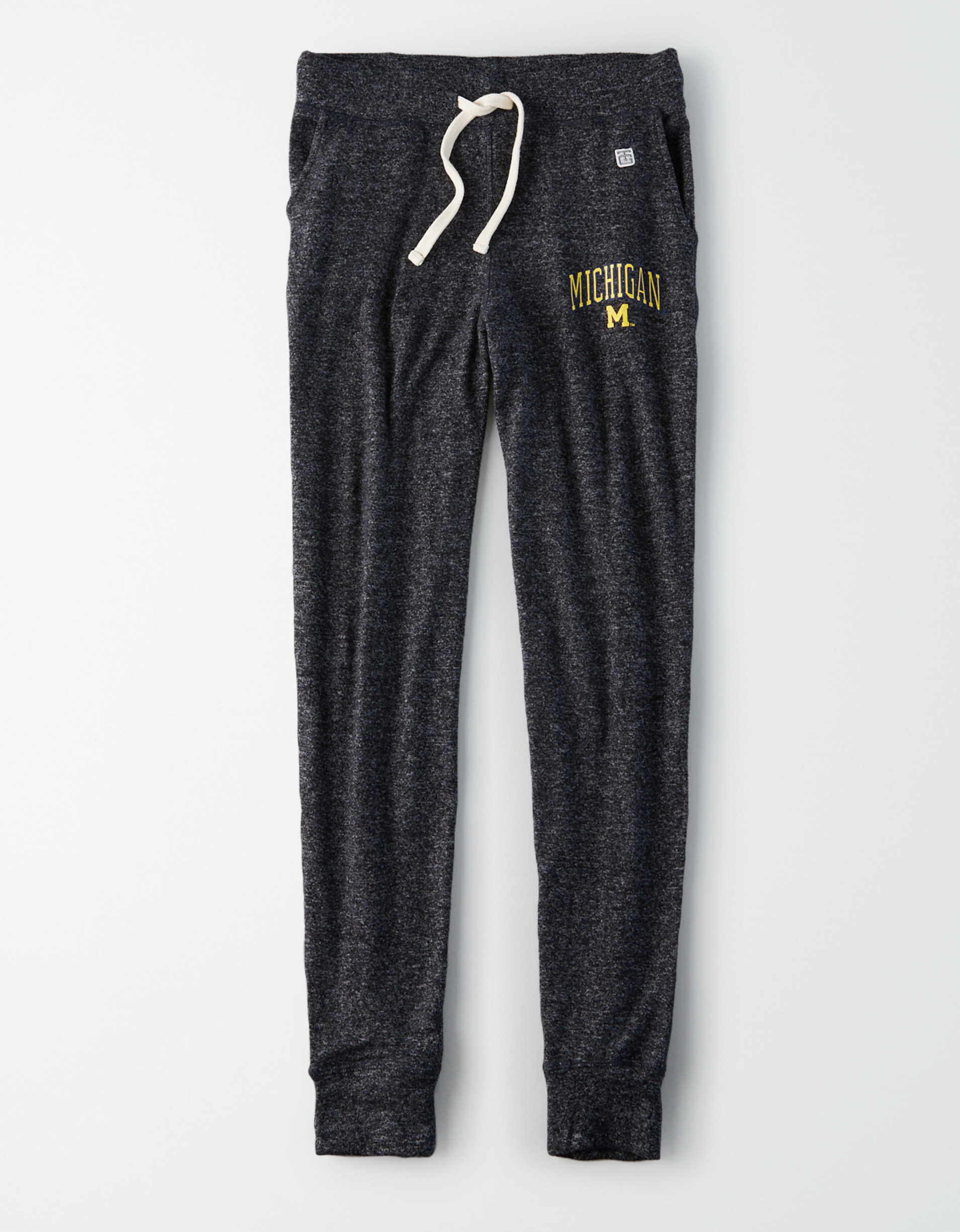 Tailgate Women's Michigan Wolverines Plush Pant