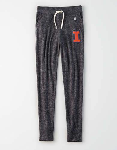 Tailgate Women's Illinois Fighting Illini Plush Pant