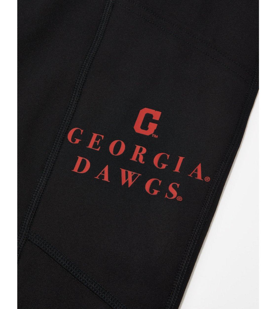 American Eagle Tailgate Womens Georgia Bulldogs Everything Pocket Legging