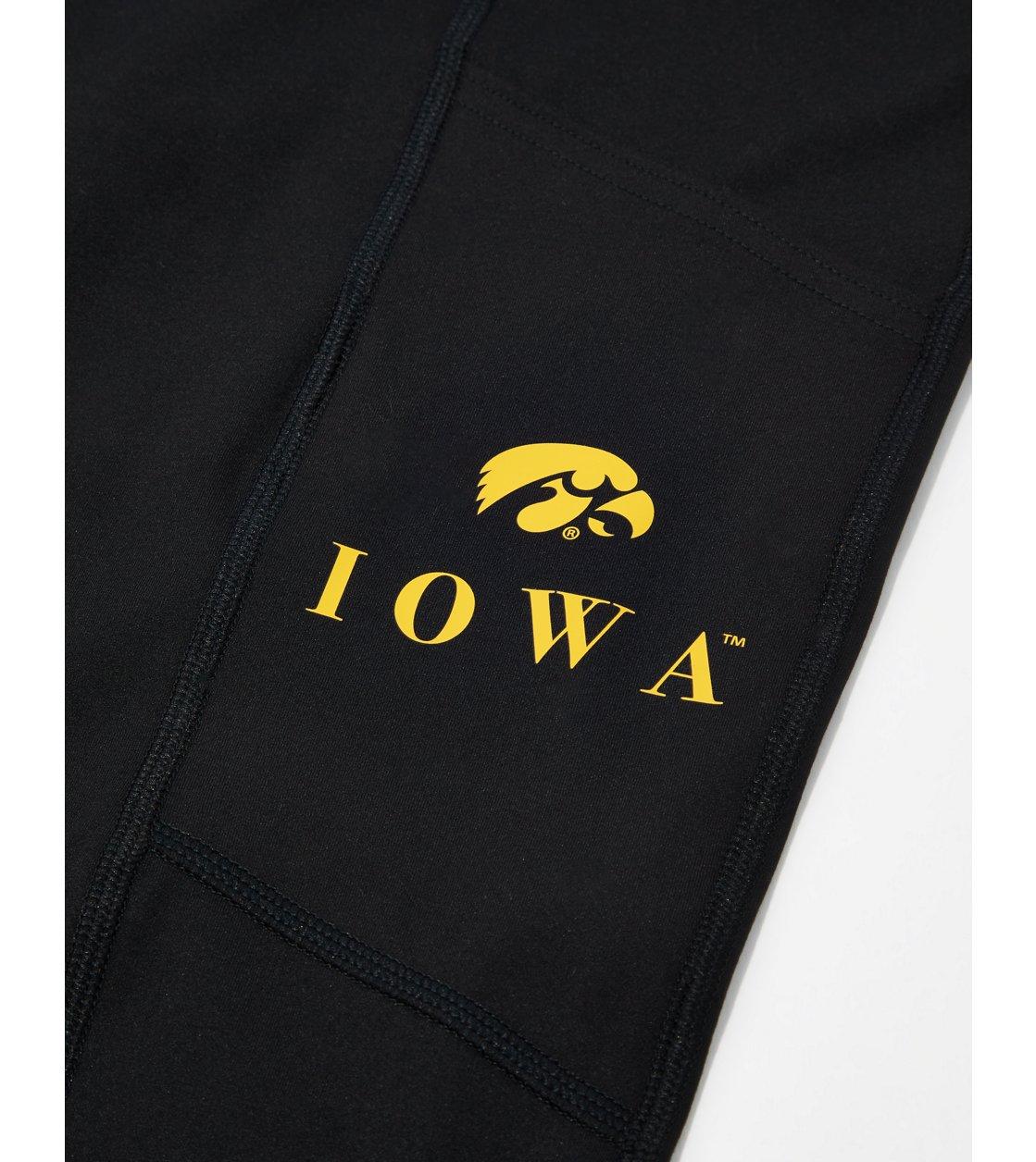 American Eagle Tailgate Womens Iowa Hawkeyes Everything Pocket Legging
