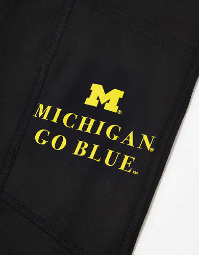 Tailgate Women's Michigan Wolverines Everything Pocket Legging