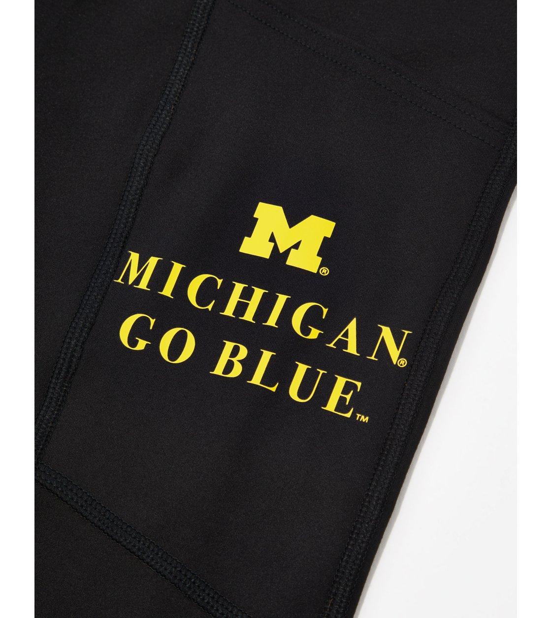 American Eagle Tailgate Womens Michigan Wolverines Everything Pocket Legging