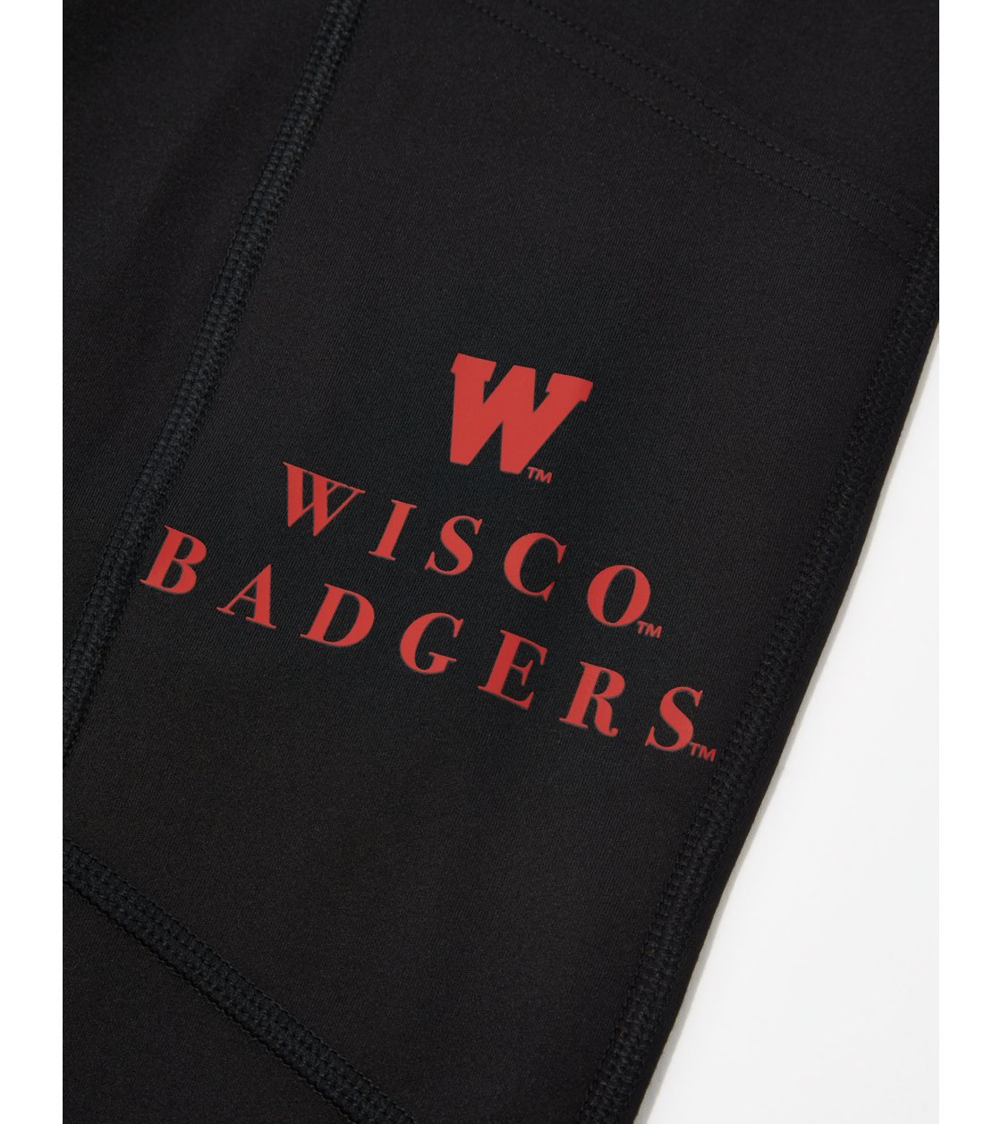 American Eagle Tailgate Womens Wisconsin Badgers Everything Pocket Legging