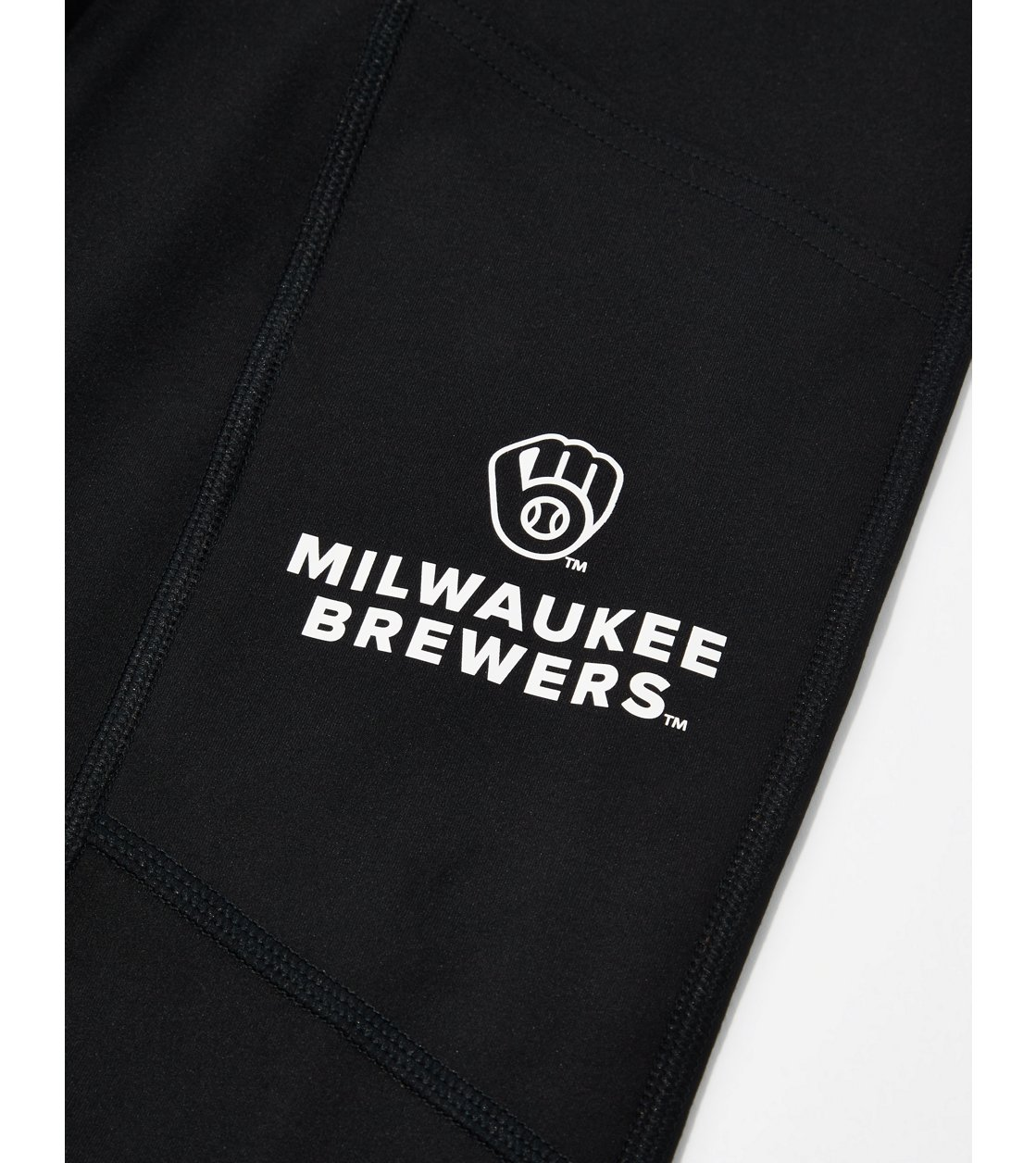 American Eagle Tailgate Womens Milwaukee Brewers Everything Pocket Legging
