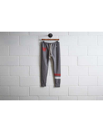 Tailgate Women's Wisconsin Terry Fleece Sweatpant - Free Returns