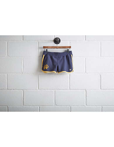 Tailgate Womens Notre Dame Track Short -